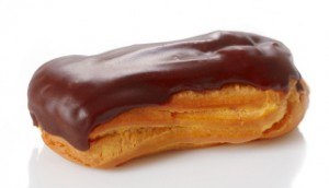 recipe: calories in a chocolate eclair with cream [20]